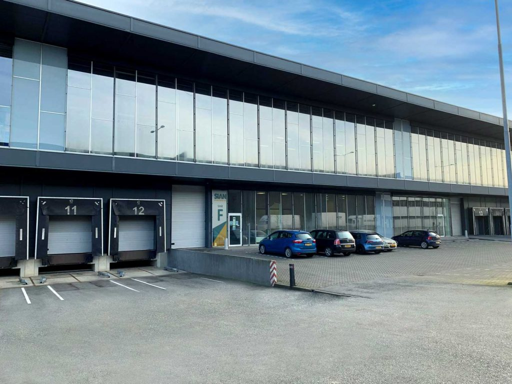 Front Outside view of SIAN NL warehouse